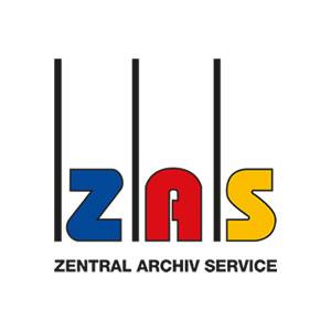 ZAS Zentral Archiv Service Logo